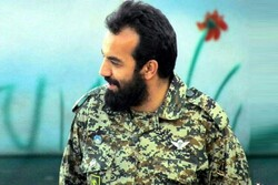 قزوین میں مدافع حرم شہید مرتضی کریمی کے پیکر پاک کو الوداع کیا گيا