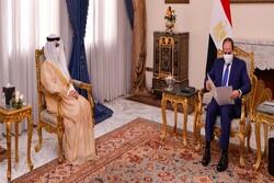 رایزنی رئیس جمهوری مصر با وزیر خارجه کویت
