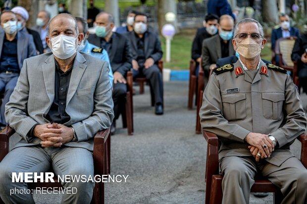 احمد وحیدی وزیر کشور در مراسم یادبود سرلشکر فیروزآبادی