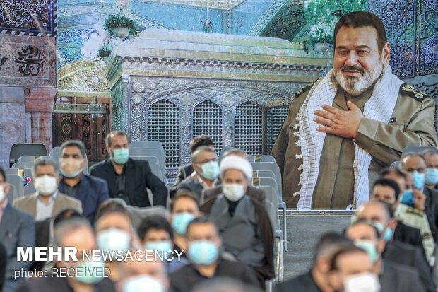 حضور مقامات لشکری و کشوری در  مراسم یادبود سرلشکر فیروزآبادی