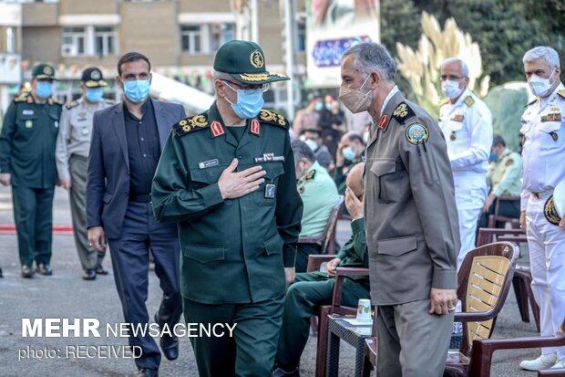 سرلشکر محمد باقری رئیس ستاد کل نیروهای مسلح در مراسم یادبود سرلشکر فیروزآبادی