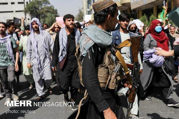 تظاهرات گسترده در افغانستان علیه طالبان