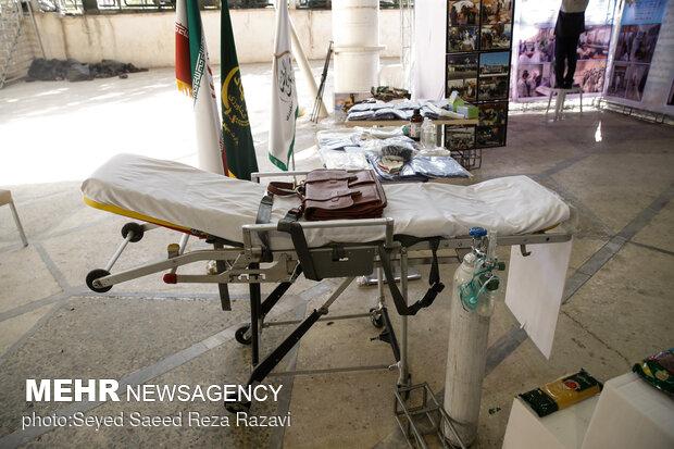 نمایشگاه و دستاوردهای بسیج ادارات و وزارتخانه ها در غالب رزمایش مقابله با کرونا و کمک های مومنانه