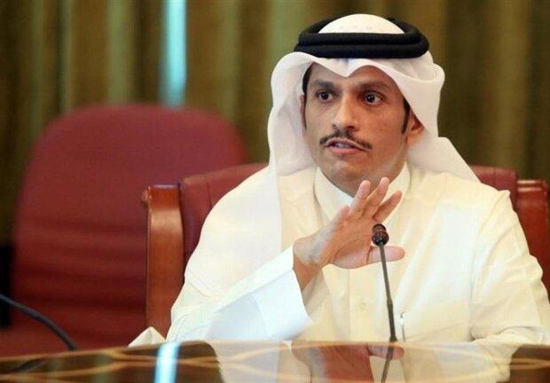 قطر کے وزیر خارجہ آج تہران کا دورہ کریں گے