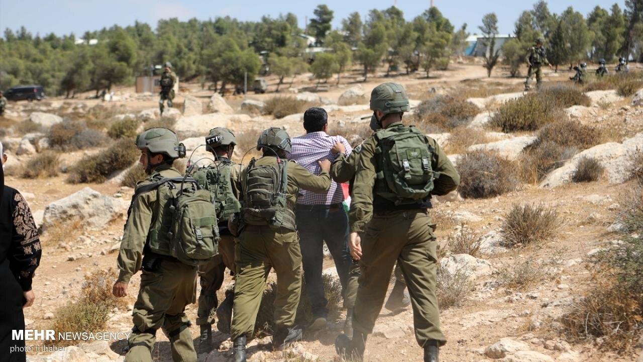 فلسطيني،صهيونيستي،جوان،اسرائيلي،بدست