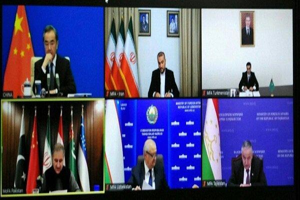 نشست وزرای امورخارجه ۶ کشور همسایه افغانستان برگزار شد
