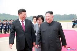 رئیس جمهور چین سالگرد تاسیس کشور کره شمالی را تبریک گفت