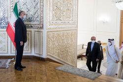 Iran, Qatar FMs meeting in Tehran