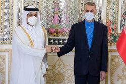 Iran, Qatar FMs discuss ties, Afghanistan in Tehran meeting