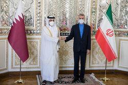 ایرانی وزیر خارجہ امیر عبداللہیان سے قطر کے وزير خارجہ کی ملاقات