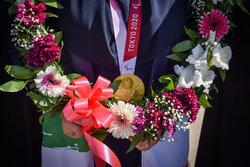 تجلیل اعضای شورای شهر شیراز از قهرمانان المپیک و پارالمپیک