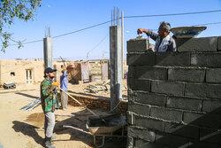 برگزاری اردوی جهادی در روستاهای زلزلهزده خراسان شمالی