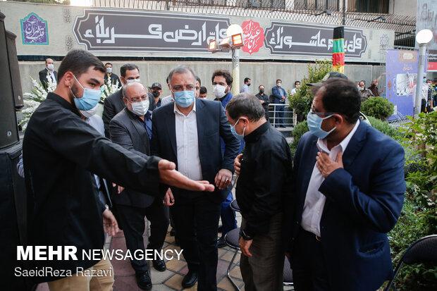 حضور علیرضا زاکانی شهردار تهران در مراسم یاد بود چهلوسومین سالگرد یومالله  ۱۷  شهریور