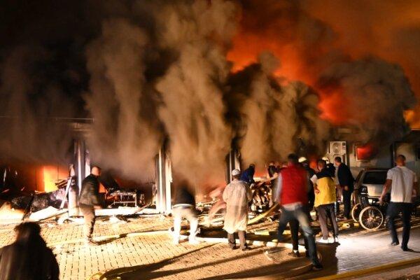 Kuzey Makedonya'da Covid-19 hastanesinde yangın: En az 10 ölü