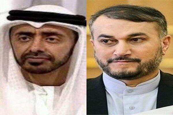 İran ve BAE dışişleri bakanları telefonda görüştü