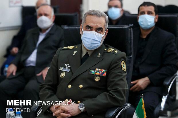 امیر سرتیپ محمد رضا آشتیانی وزیر دفاع و پشتیبانی نیروهای مسلح
