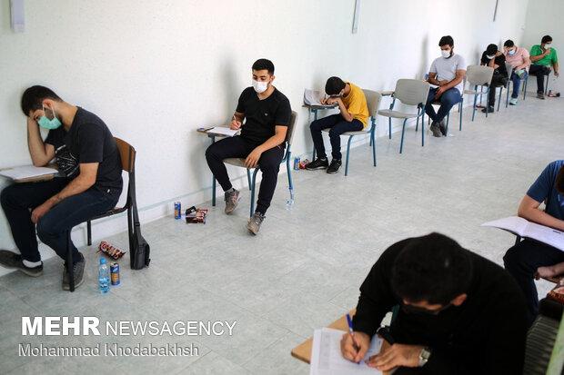 شرکت کنندگان در مرحله دوم، موظف بودند رضایت نامه کتبی حضور در محل آزمون را همراه داشته باشند.