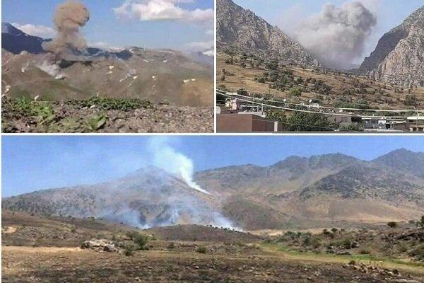İran'dan IKBY'deki teröristlerin mevzilerine operasyon