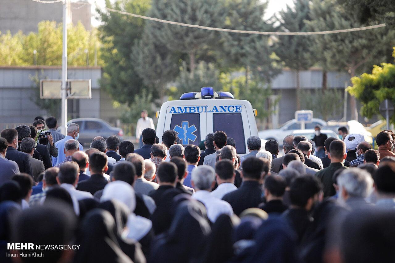 مراسم تشییع پیکر علی لندی در اصفهان برگزار میشود