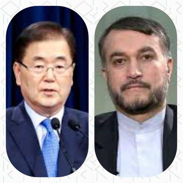 Top diplomats congratulate Iran FM Amir-Abdollahian