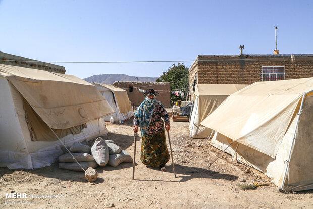 اردوی جهادی دانشجویان خراسان شمالی درمناطق زلزله زده گرمه و جاجرم