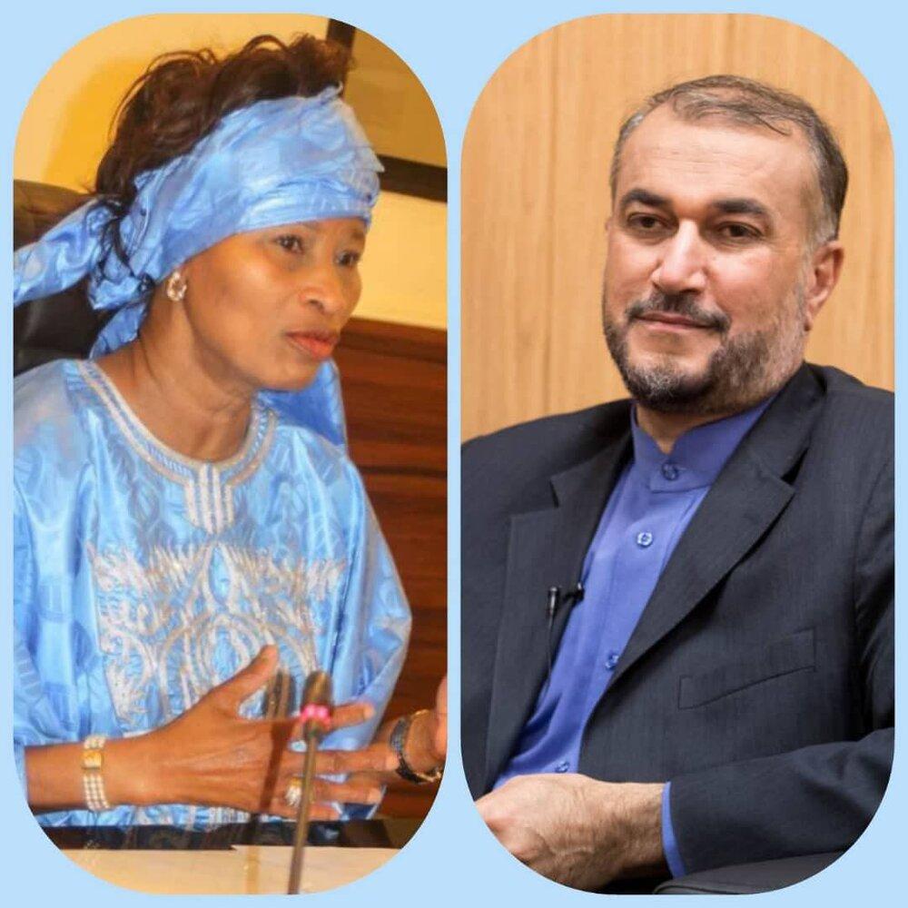 پیام تبریک وزیر امورخارجه سنگال به امیرعبداللهیان