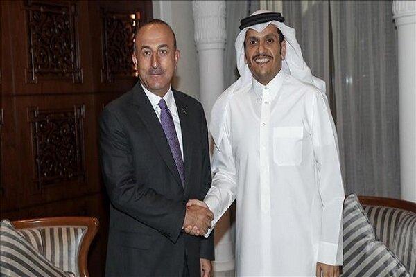 رایزنی وزیران خارجه قطر و ترکیه درباره افغانستان