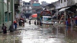 باران و سیل در پاکستان