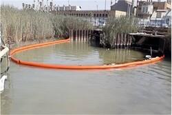 آلودگی نفتی رودخانه اروند مهار شد