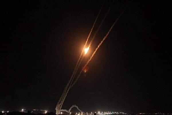 اطلاق صاروخ باتجاه المستوطنات المحاذية لقطاع غزة