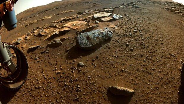 ناسا ۲ نمونه از مریخ جمع آوری کرد