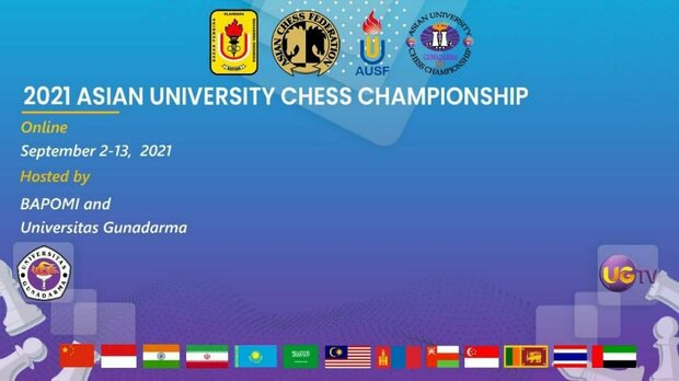 Iran tops students chess online competitions in Indonesia