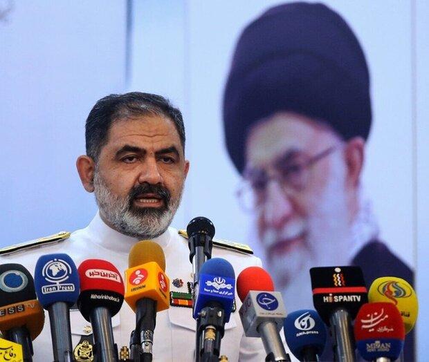 اولويتنا تأمين سلامة السفن التجارية الايرانية في المياه الدولية