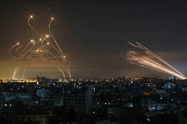ارتش رژیم صهیونیستی مدعی رهگیری یک فروند راکت از جانب نوارغزه شد