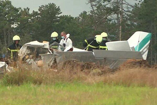 سقوط یک فروند هواپیما در شرق فرانسه/ سه تن کشته شدند