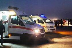 ۱۲ نفر در دو سانحه رانندگی خوزستان مصدوم شدند