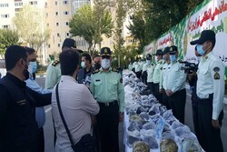 Police bust over 2 tons of illicit drugs in Tehran
