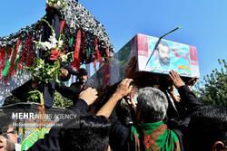 تشییع پیکر شهید مدافع حرم مرتضی کریمی