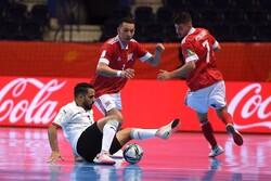 شکست باورنکردنی تیم ملی فوتسال مصر در نخستین بازی جام جهانی