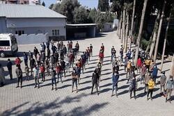 بازداشت ۱۸۷ مهاجر غیر قانونی در استان ختای ترکیه