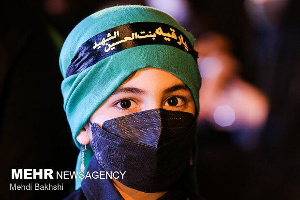 برنامه «حسینیه نوگلان فاطمی» در دهه آخر صفر پخش میشود