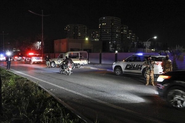 Erbil Havaalanı'na İHA saldırısı