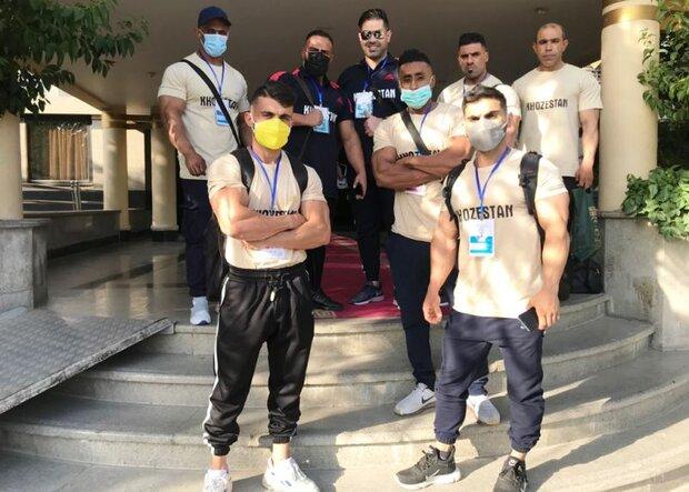 درخشش ورزشکاران خوزستانی در مسابقات پرورش اندام قهرمانی کشور