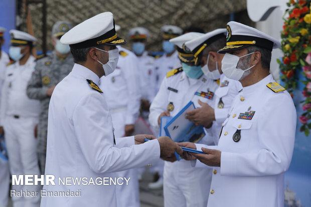 Welcoming ceremony of 75th Naval Fleet