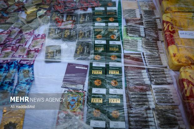 مواد مخدر کشف شده توسط پلیس مبارزه با مواد مخدر، این مواد از کشور های اروپایی قاچاق شده چند برابر مواد مخدر معمولی ترا ریخته شده است