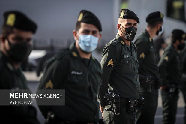 مامورین ستاد میارزه با مواد مخدر نیروی انتظامی تهران بزرگ