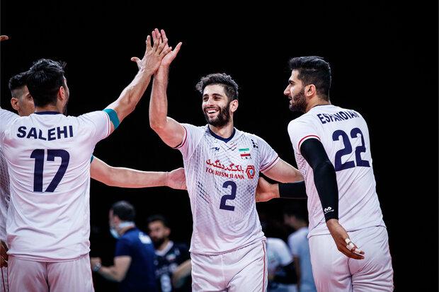 Iran beat Hong Kong in Asian Volleyball C'ship