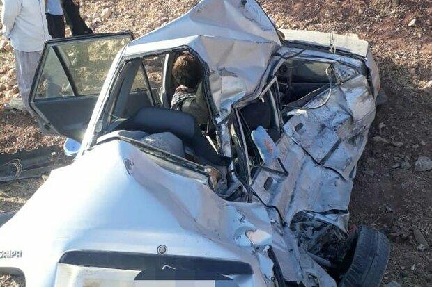 تصادف در زنجان ۴ فوتی بر جای گذاشت