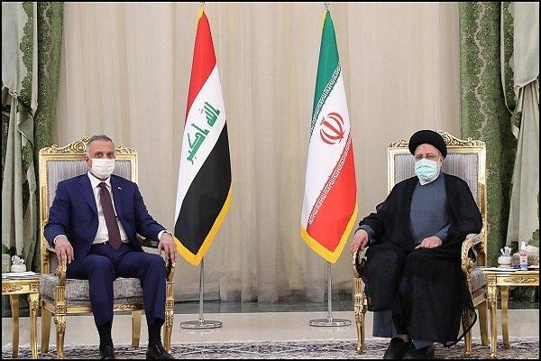 President Raeisi, Iraqi PM Kadhimi hold meeting in Tehran
