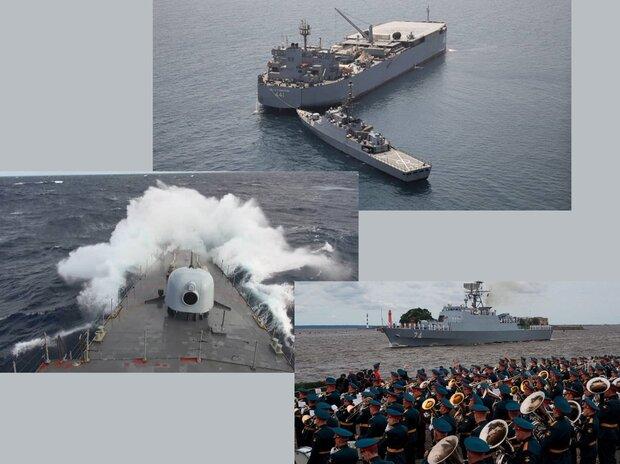غولهای دریایی ایران بیخ گوش آمریکا/ ۶ اقدام علیه ناوگروه ایرانی